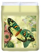 Butterfly Visions-a Duvet Cover
