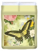 Butterfly Visions-d Duvet Cover