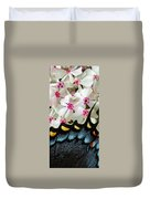Butterfly Wing And Phlox Duvet Cover