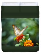 Butterfly Wings Of Sun 2 Duvet Cover by Thomas Woolworth