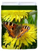 Butterfly Yellow Duvet Cover
