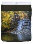 Buttermilk Falls Autumn Duvet Cover