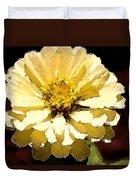 Buttermilk Yellow Duvet Cover