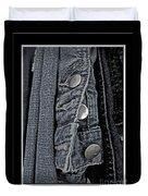 Button Ups Duvet Cover