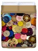 Buttons 670 Duvet Cover