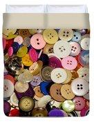 Buttons 671 Duvet Cover