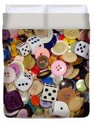 Buttons 674 Duvet Cover