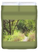 Buttonwood Forest Duvet Cover