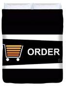 Buy Now Black Duvet Cover