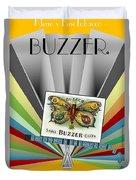 Buzzer Duvet Cover
