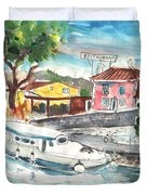 By A French Canal 02 Duvet Cover