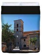 By The Church - Veroli Duvet Cover