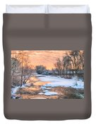 By The Old Mill Duvet Cover