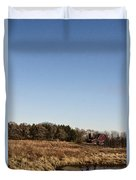 By The Pond Duvet Cover