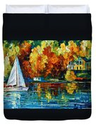 By The Rivershore Duvet Cover