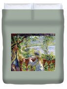 By The Water Duvet Cover