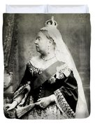 C. 1880 Her Majesty Queen Victoria Duvet Cover
