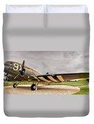 C-47 Snafu Special Duvet Cover