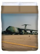 C-5 On Taxi Duvet Cover