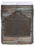 Ca-489 Moreland School Duvet Cover