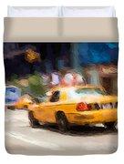Cab Ride Duvet Cover