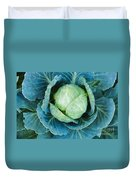 Cabbage Painterly Duvet Cover