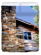 Cabin At Mabry Mill Duvet Cover