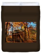 Cabin At The Cove Duvet Cover