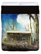 Cabin Fever Duvet Cover