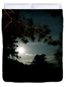 Cabin Moon Duvet Cover