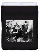 Cabinet Of Dr. Caligari Duvet Cover