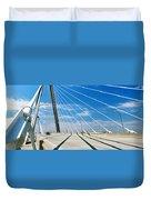 Cable-stayed Bridge, Arthur Ravenel Jr Duvet Cover
