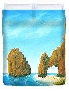 Cabo San Lucas Mexico Duvet Cover