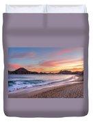 Cabo Sunset Duvet Cover