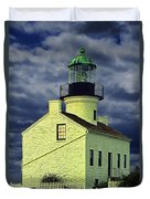 Cabrillo National Monument Lighthouse No 1 Duvet Cover