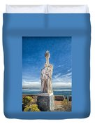 Cabrillo National Monument - Point Loma California Duvet Cover