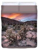 Cac-dusk Duvet Cover