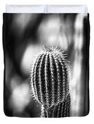 Cacti B And W  Duvet Cover