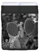 Cacti Bokeh Duvet Cover