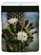 Cacti Bouquet  Duvet Cover