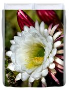 Cacti Flora Duvet Cover
