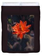 Cactus Blossom 1 Duvet Cover