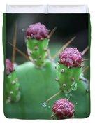 Cactus Dew Duvet Cover