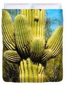 Cactus Face Duvet Cover