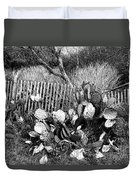 Cactus Fence- Hill Country Texas Duvet Cover