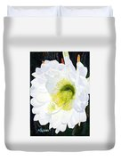 Cactus Flower II Duvet Cover