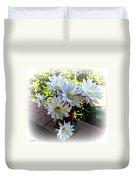 Cactus Flower Perfection Duvet Cover