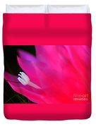 Cactus Flower Summer Bloom Duvet Cover