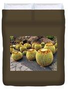 Cactus Garden On Lanzarote Duvet Cover