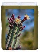 Cactus In Bloom Duvet Cover